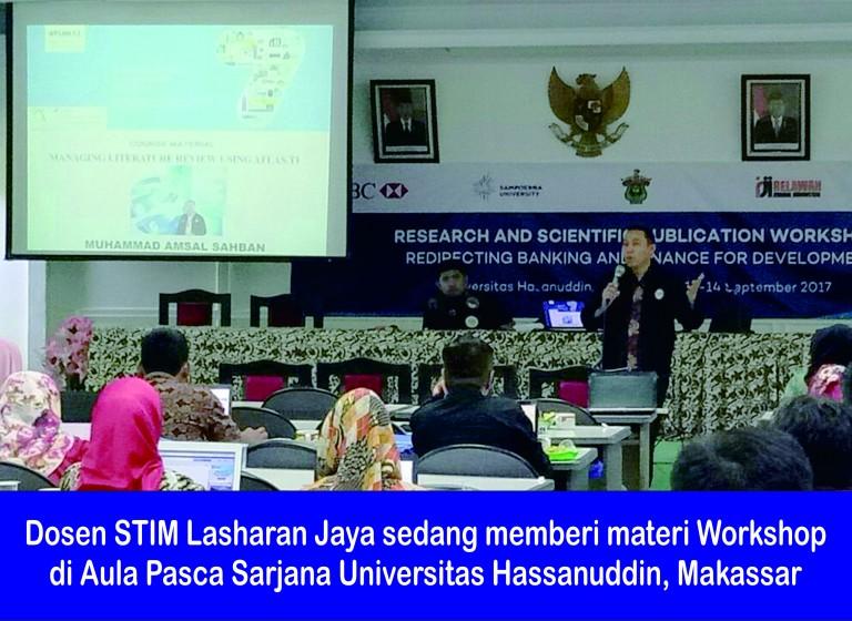 Jumlah Publikasi Masih Kurang, Puluhan Dosen dan Peneliti Menghadiri Workshop Riset dan Manajemen Publikasi Ilmiah di UNHAS