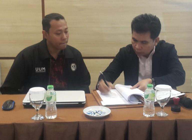 STIM Lasharan Makassar – UIN Lampung Jalin Kerjasama